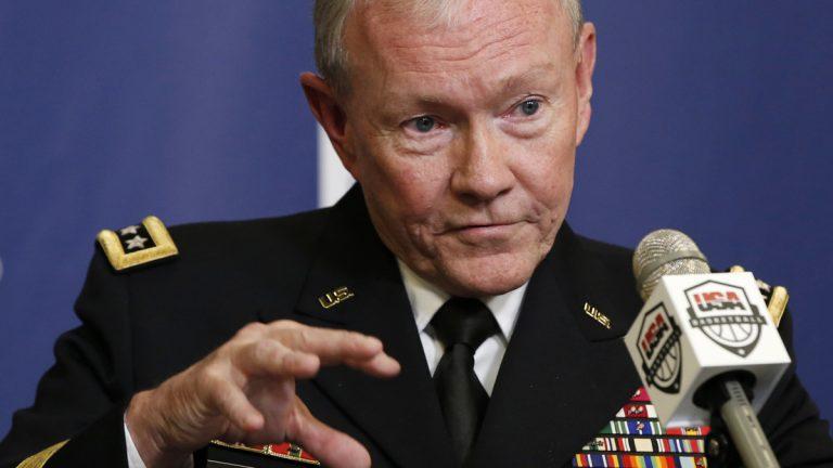 Joint Chiefs Chairman Gen. Martin Dempsey, Aug. 20, 2014 (Kathy Willens/AP Photo, file)