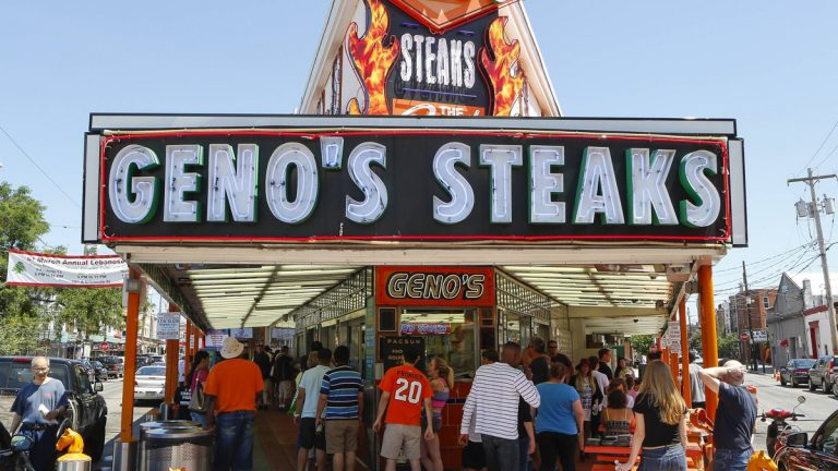 Geno's Cheesesteaks, Philadelphia Pa. (Mark Stehle/Invision for PacSun/AP Images)
