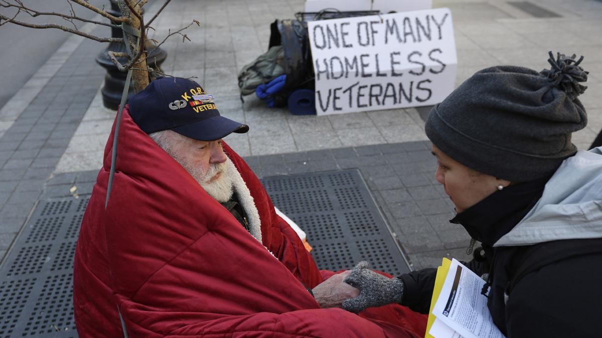 getting homeless veterans back on track
