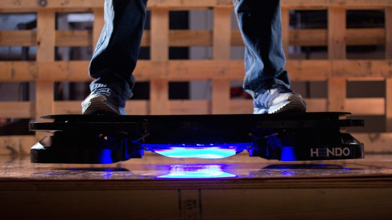 Hendo Hoverboard is here. And it's real! (PRNewsFoto/Arx Pax)