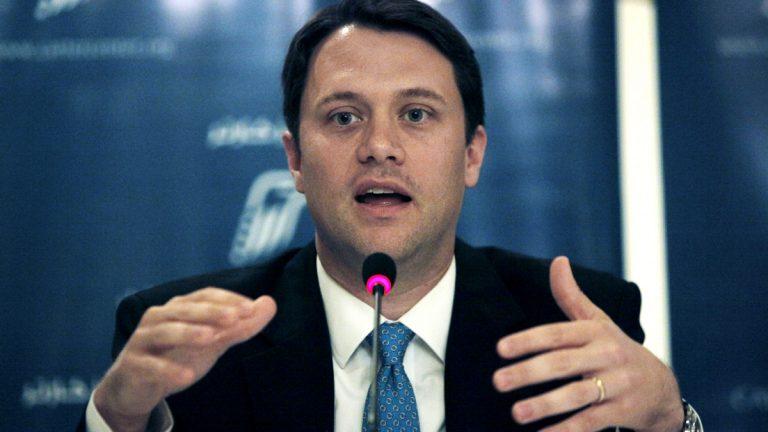 Jason Carter, the grandson of former President Jimmy Carter, is running for governor of Georgia (Nasser Nasser/AP Photo, file)