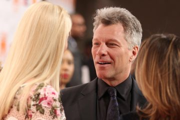 Jon Bon Jovi will receive the Marian Anderson Award at the Kimmel Center Tuesday night. (AP photo/Matt Rourke)