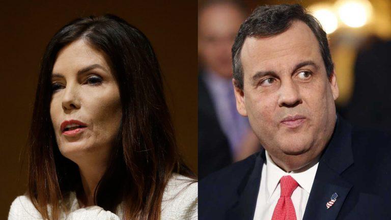 Pennsylvania Attorney General Kathleen Kane and New Jersey Gov. Chris Christie (AP file photos)