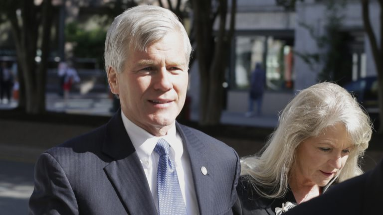 Former Virginia Gov. Bob McDonnell, and his wife Maureen (Steve Helber/AP Photo)