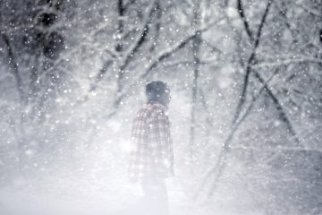 People walk in a snow squall in Trenton, N.J. (AP file Photo/Mel Evans)