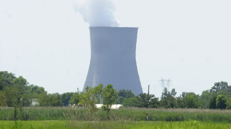The Hope Creek Nuclear Generating Station in Lower Alloways Creek, N.J., is one of two nuclear sites in the state. (Brian Branch-Price/AP Photo, file)