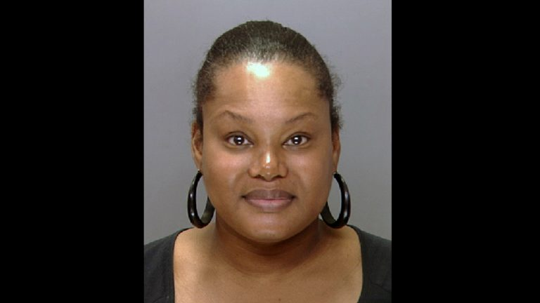 This undated file photo released by the Philadelphia Police Department shows Padge Victoria Windslowe. Windslowe, who calls herself the 'Black Madam,' on Wednesday, May 16, 2012 was ordered to stand trial on allegations she administered illegal buttock-injections, procedures that authorities say caused serious medical problems in at least one case. (AP Photo/Philadelphia Police Department, File)