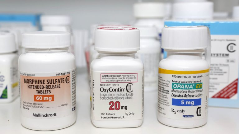 Dr. Michael Campbell, Director of EducationalPrograms of St. Joseph Institute for Addiction, says the rise of heroin is directly tied to the influx of prescription medication with opiates in them.  ((AP file Photo/Toby Talbot, File)