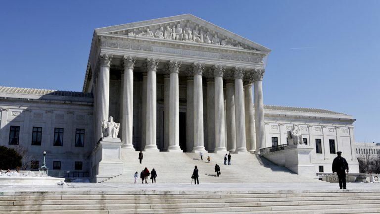 The Supreme Court Building is seen on Capitol Hill in Washington. (J. Scott Applewhite/AP Photo)