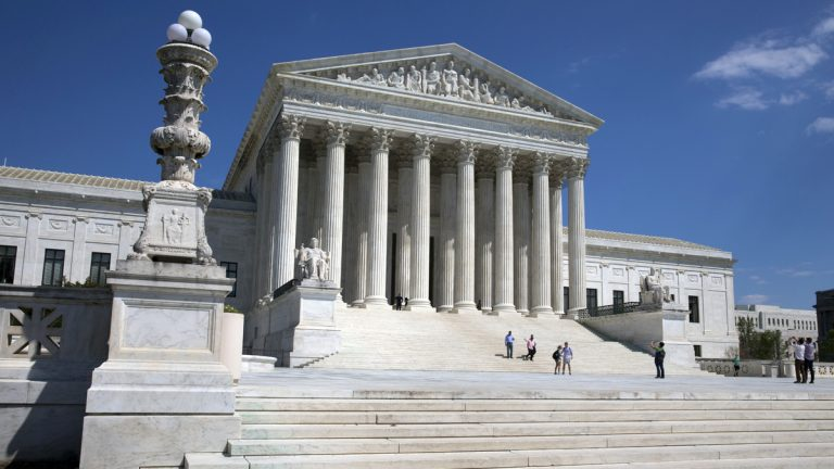 A narrowly divided Supreme Court upheld decidedly Christian prayers at the start of local council meetings on Monday, declaring them in line with long national traditions though the country has grown more religiously diverse. (Jacquelyn Martin/AP Photo)