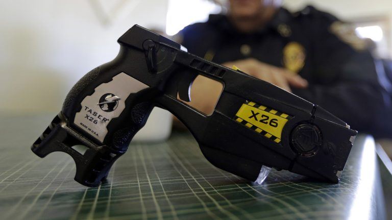 A new policy in New Jersey allows police to use stun guns to de-escalate an incident more quickly. (AP file photo)