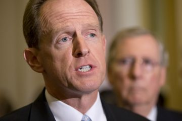 Sen. Pat Toomey, R-Pa., was one of a handful of Republicans who voted with the Democratic caucus to pass the Employment Non-Discrimination Act (ENDA)(J. Scott Applewhite/AP Photo, file)