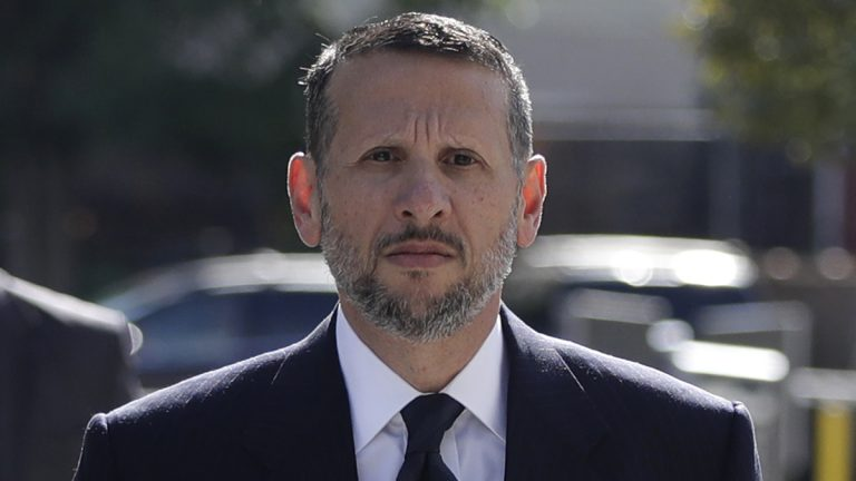 David Wildstein arrives at Martin Luther King Jr. Federal Courthouse for a hearing