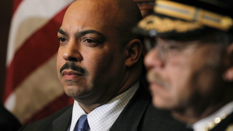 District Attorney Seth Williams, left, and Police Commissioner Charles Ramsey (Matt Rourke/AP Photo, file)