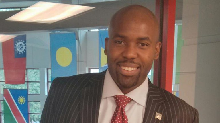 Armond James, GOP opponent to Chaka Fattah (Image courtesy of James Williams)