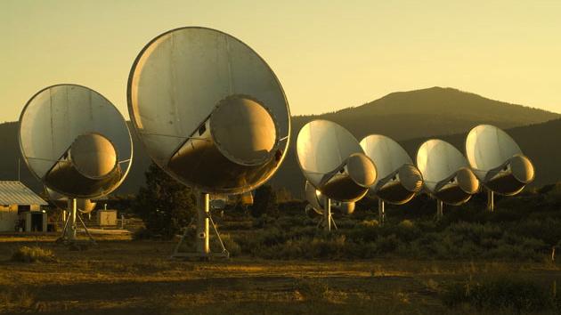 The Allen Telescope Array in Hat Creek