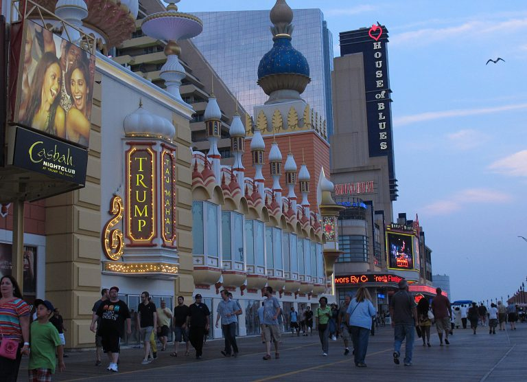 The casino boom transformed the Boardwalk, but Atlantic City remains poor and struggling. (AP Photo/Wayne Parry)