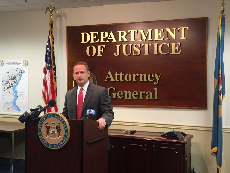 Attorney General Matt Denn announced a four-part plan Thursday to attack heroin addiction in Delaware.