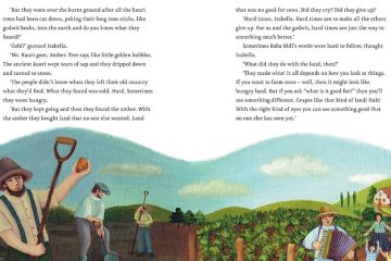 A page from 'Baba Didi and the Godwits Fly' (Courtesy of New Internationalist)