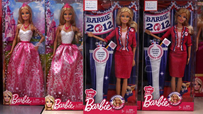 Barbie dolls are shown at a Walmart store in Robinson Township, Pa. (AP Photo/Gene J. Puskar, file)