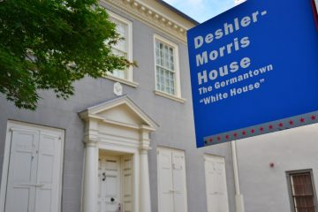 The Germantown White House, where George Washington twice sought shelter, was supposed to open on Saturday. That was before the government shutdown, though. (Bas Slabbers/for NewsWorks)
