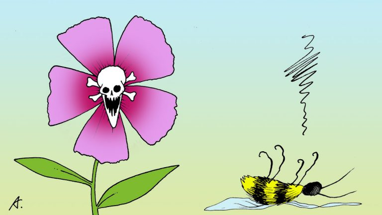 New research shows that bumblebees are catching a honeybee disease