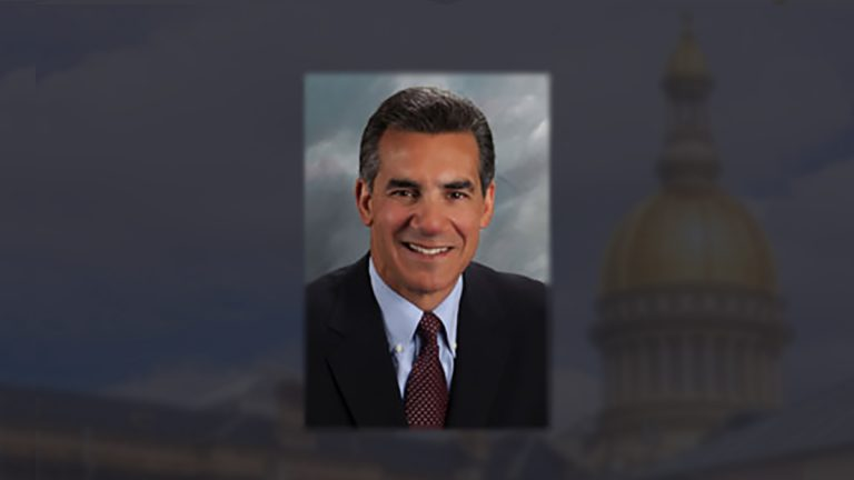 Jack Ciattarelli is a Republican Assemblyman running for governor. (Graphic by Evan Croen)