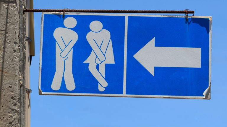 (<a href='http://www.bigstockphoto.com/image-74341660/stock-photo-sign-of-public-toilets%2C-wc-restroom'>Big Stock</a>)