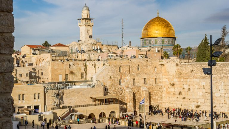 Jerusalem's Western Wall (<a href='http://www.bigstockphoto.com/image-113664026/stock-photo-western-wall-and-dome-of-the-rock%2C-jerusalem'>Big Stock</a>)