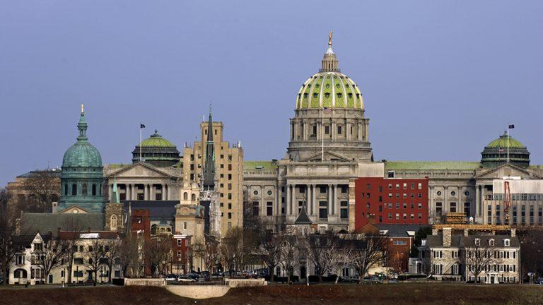 Pennsylvania State Capitol in Harrisburg (Tashka/Bigstock)