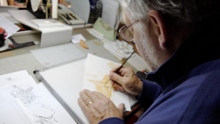 Inside The World Of Medical Illustration With Mt Airy Artist Birck Cox Whyy