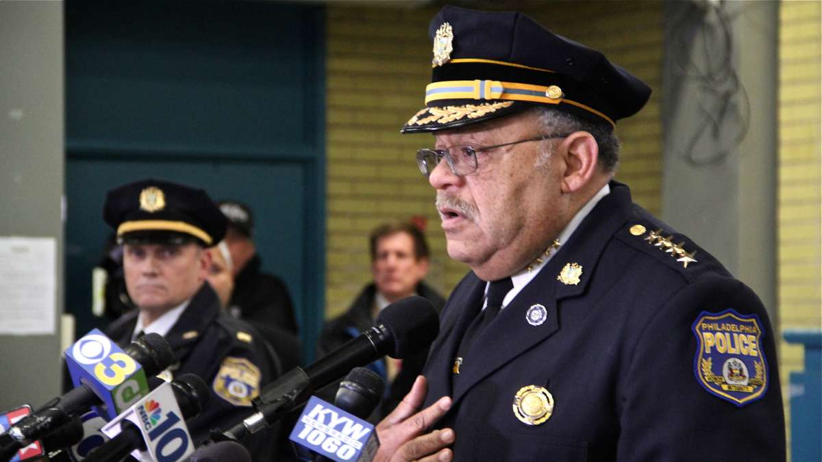 Philadelphia Police Commissioner Charles Ramsey (Emma Lee/WHYY)