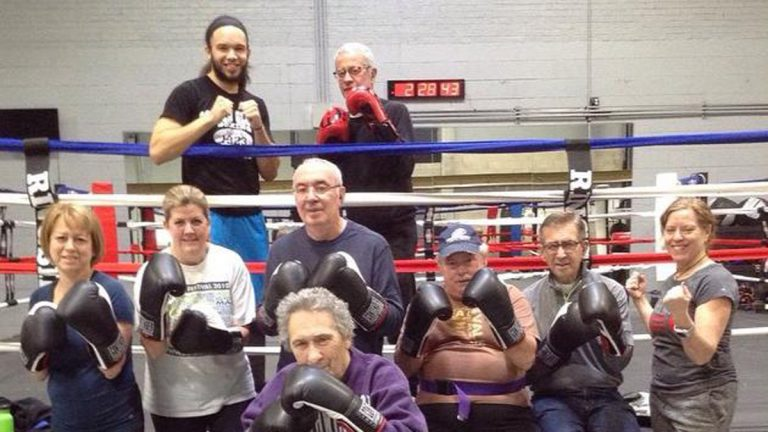 Falcon Boxing Gym is located in a northern suburb of Chicago and is one of several U.S. locations offering the Rock Steady Method for people with Parkinson's disease (Photo courtesy of Sam Rodriguez)