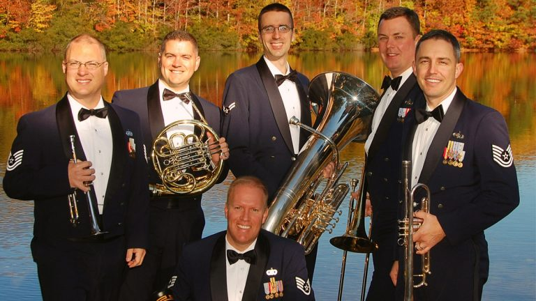 Air Force Heritage of America Brass Ensemble (photo/ courtesy: heritageofamericaband.af.mil)