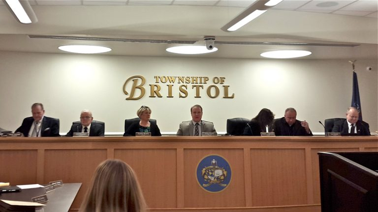 The Bristol Township Council passed a resolution for a six-month stay on new recovery, or