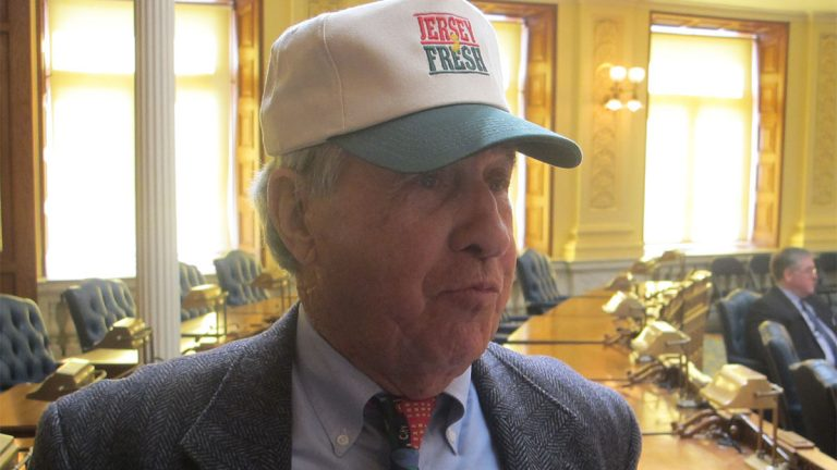 Former New Jersey Agriculture Secretary Art Brown has started his crops about three weeks earlier than usual this year on his South Jersey farm.  (photo by Phil Gregory)