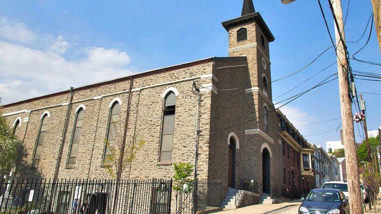 St. Mary of the Assumption Catholic Church on Conarroe Street.(Bas Slabbers/for NewsWorks)