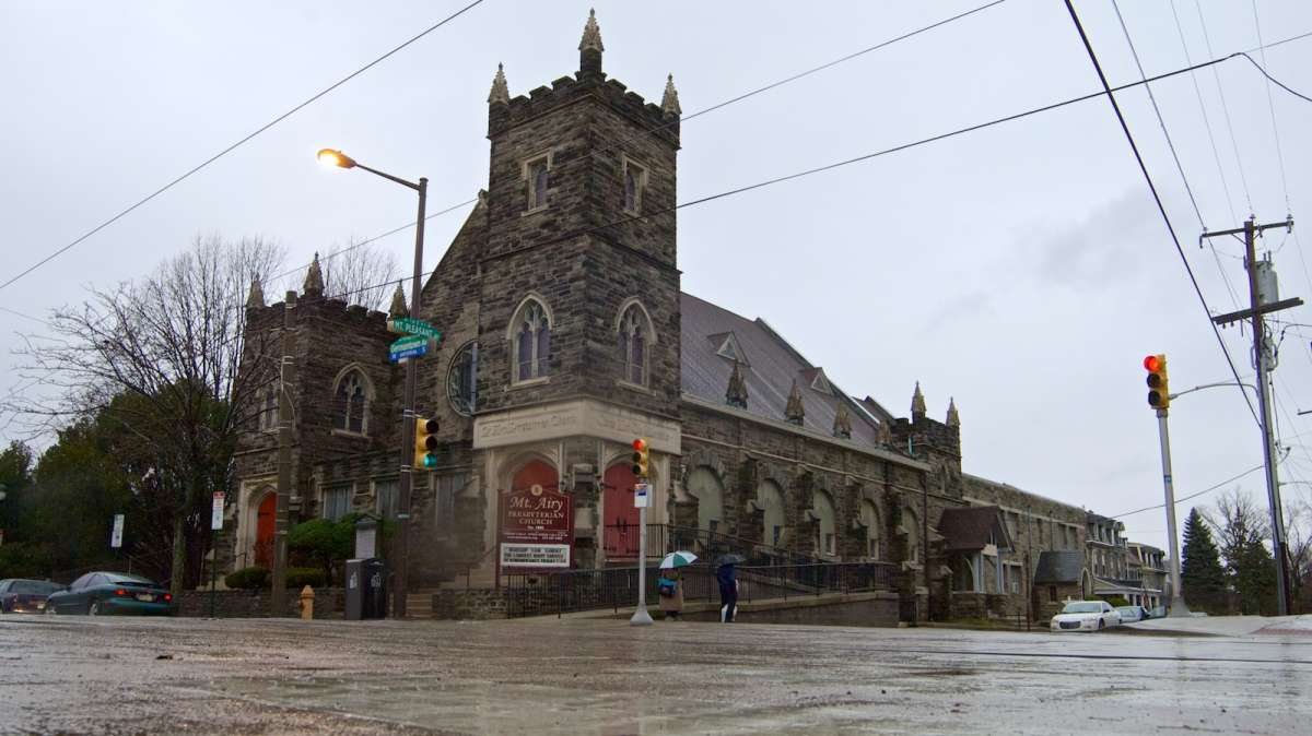 The Mt. Airy Presbyterian Church is one of the properties Ken Weinstein is working on redeveloping next year. Check out the full story to learn more. (Bas Slabbers/for NewsWorks)