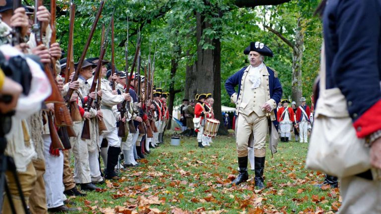 Historic Germantown puts on the annual Revolutionary Germantown Festival each fall. (Bas Slabbers/for NewsWorks, file)