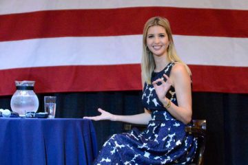 Ivanka Trump appearing in Drexel Hill