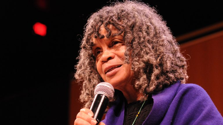 Sonia Sanchez. (Photo by Raymond W. Holman Jr.)