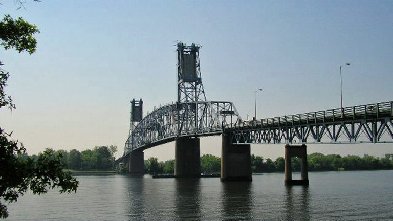 Under a new proposal, tolls on the Burlington-Bristol Bridge (pictured) and the Tacony-Palmyra Bridge would increase from $2 to $4. (Image courtesy of the Burlington County Bridge Commission)
