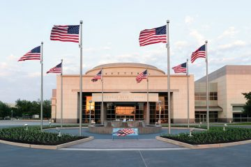 George Bush Presidential Library at Texas A&M University. (<a href=