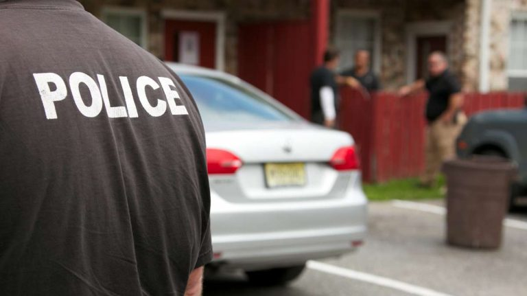 Research shows the training that police officers in 11 New Jersey counties have received on crisis-intervention techniques to interact more effectively with those who have mental illnesses is working. (Nathaniel Hamilton/for NewsWorks)