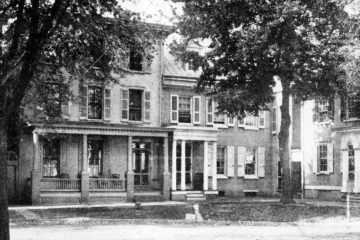 The 'Poison Candy Murder House' still stands in Dover. (photo courtesy Delaware Public Archives)