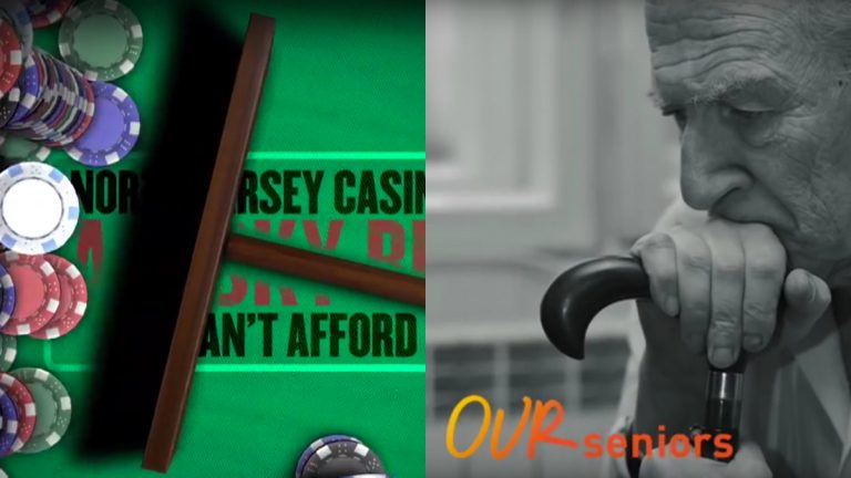 An ad war has begun over a New Jersey ballot question that could allow casino expansion.