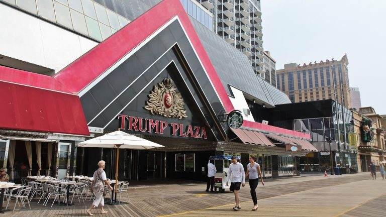 The closing of Trump Plaza, along with the Revel and Showboat casinos, will interrupt New Jersey's five-month trend of adding jobs. (Kimberly Paynter/WHYY)