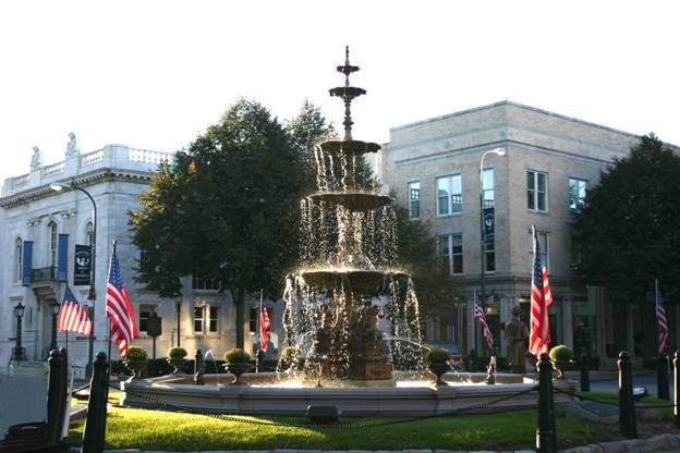 Borough Hall in Chambersburg, Franklin County.