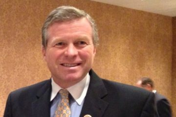 U.S. Rep. Charlie Dent expressed some Monday in harrisburg that his hard-right colleagues in Congress are coming around to the ways of governing by compromise. (Mary Wilson/for NewsWorks)