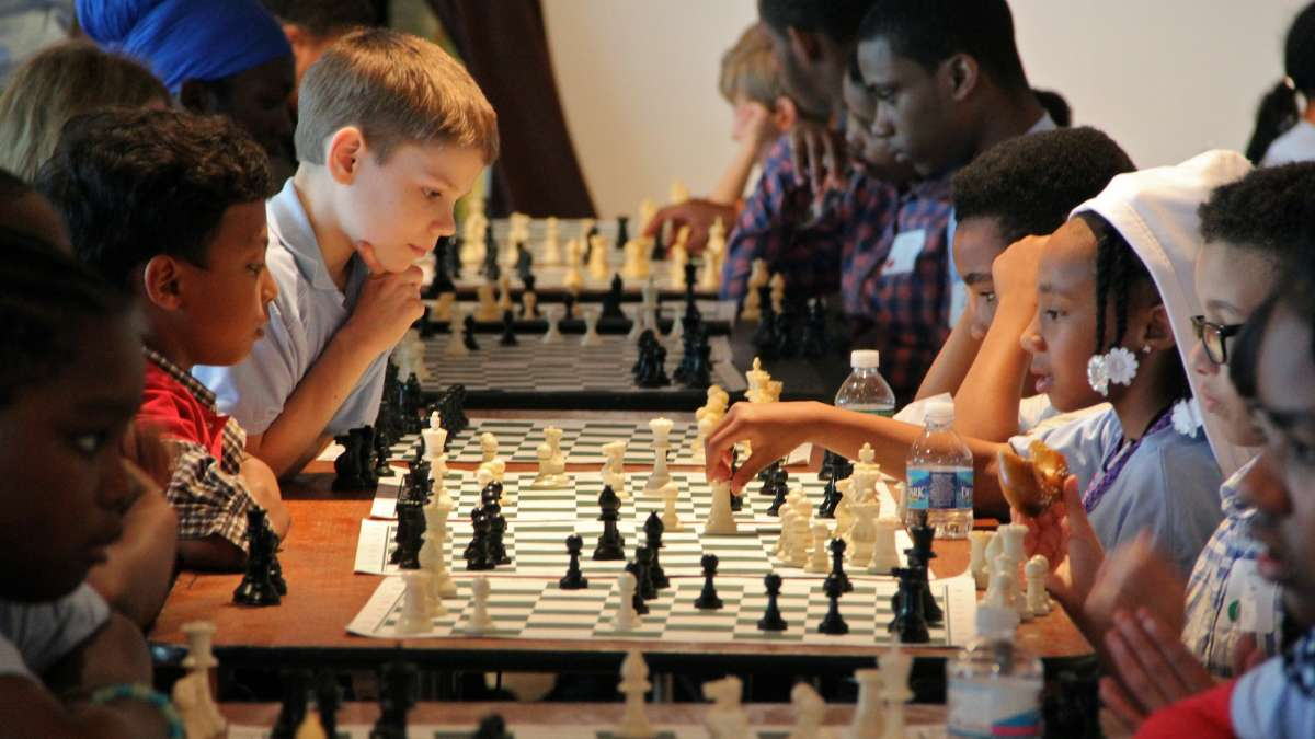 After School Activities Partnerships (ASAP) runs chess programs for Philadelphia students. (Emma Lee/WHYY